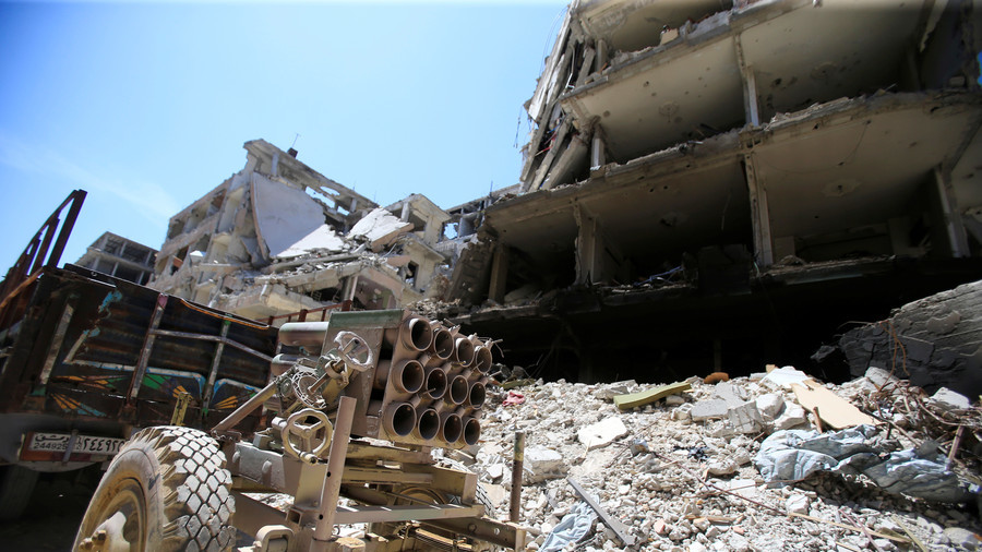 Kesaksian Reporter Jerman: Insiden Douma adalah Serangan Bendera Palsu