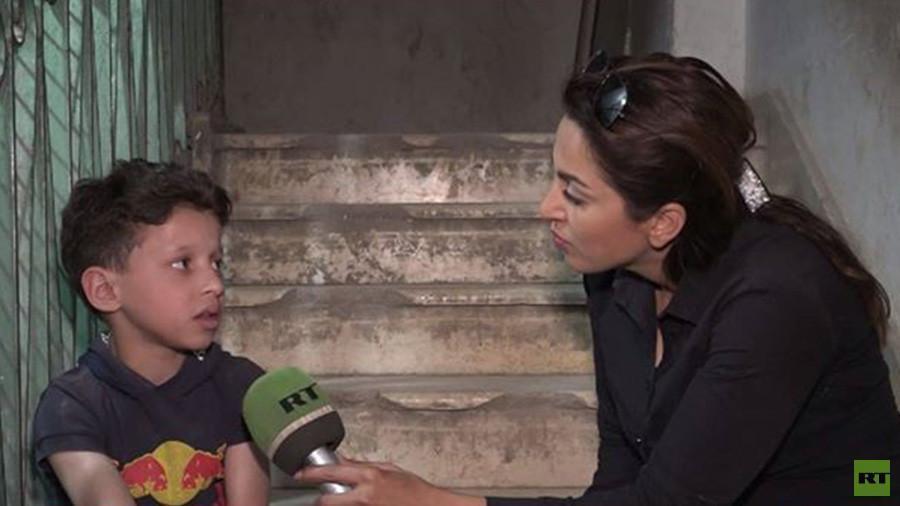 Wawancara dengan Bocah Korban 'Serangan Kimia' di Douma
