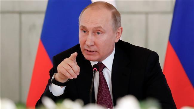 Putin: Negara-Negara Tertentu Bertindak untuk Keuntungan Teroris