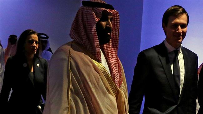 Kushner dan Putra Mahkota Saudi Bahas Perdamaian Tanpa Melibatkan Palestina