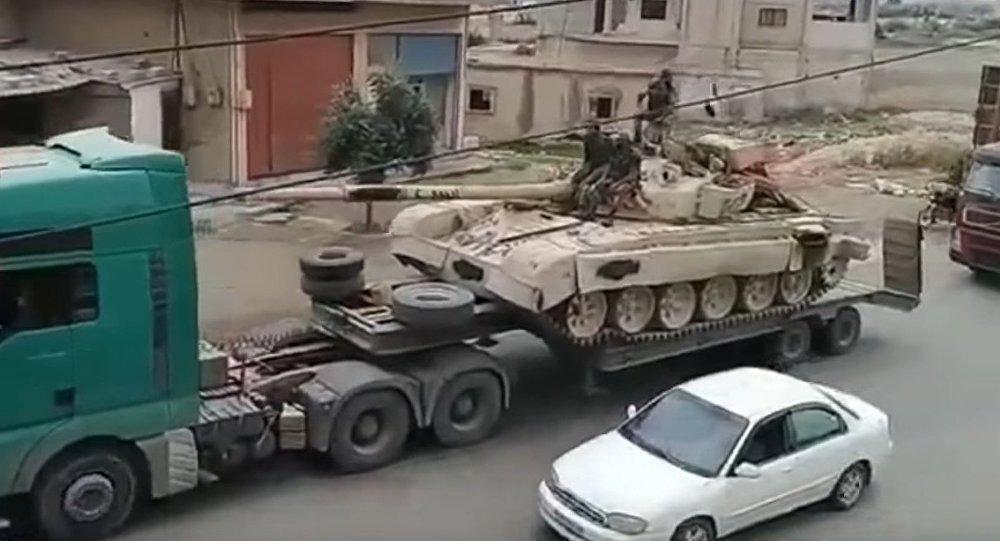 Suriah Siap Bebaskan Daraa, Konvoi Militer Besar-besaran Telah Dikirim