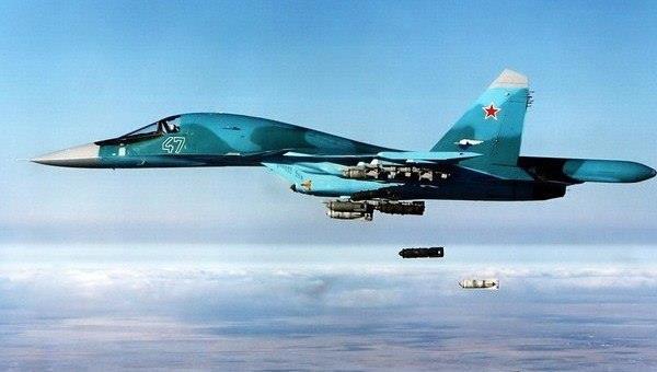 Jet Tempur Rusia Luncurkan Serangan Besar-besaran Terhadap ISIS di Daraa