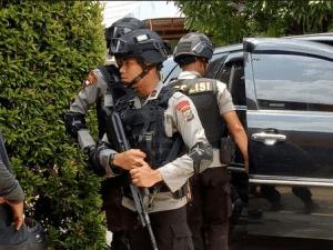 Polisi Tangkap Teroris di Pekanbaru