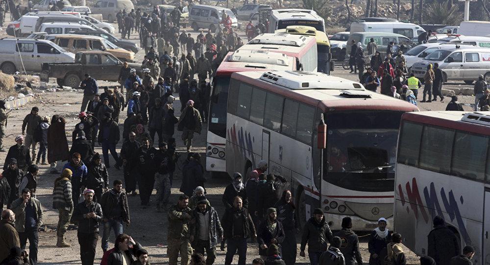 Ribuan Warga Dievakuasi Dari Fuah dan Kefraya Setelah 3 Tahun Dikepung Teroris
