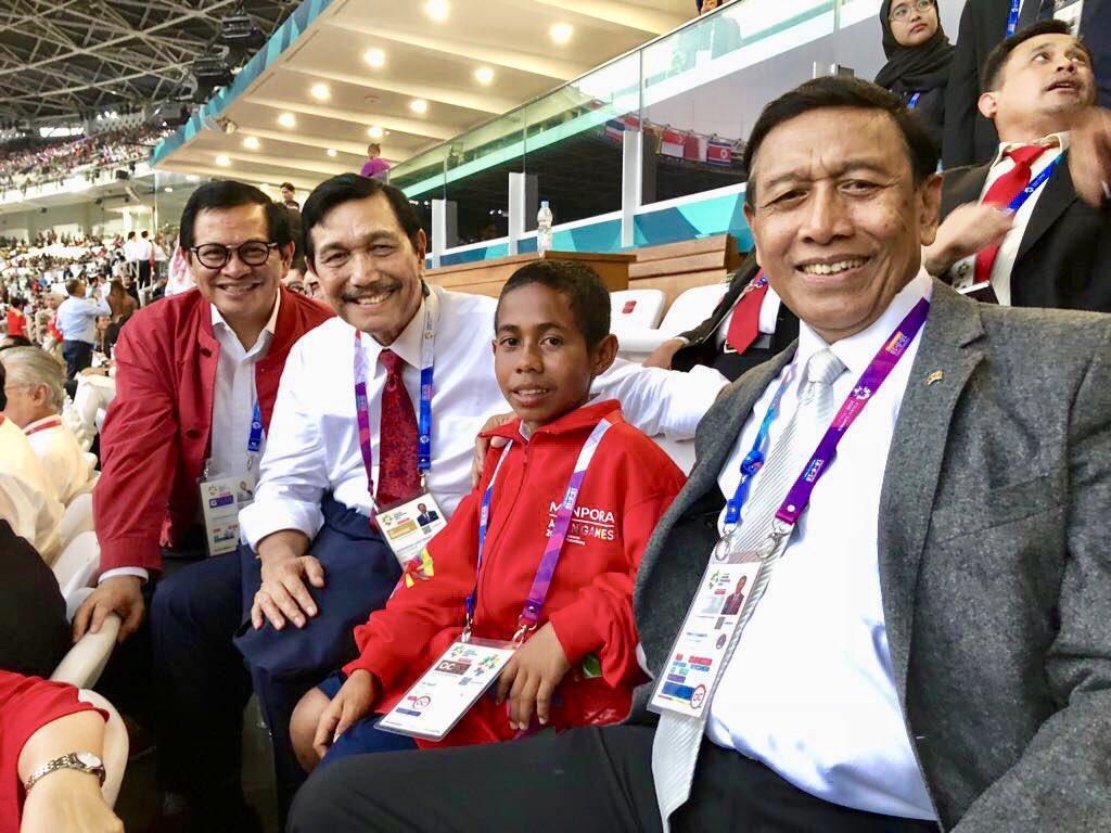 Bocah Pemanjat Tiang Bendera jadi Bintang di Pembukaan Asian Games 2018