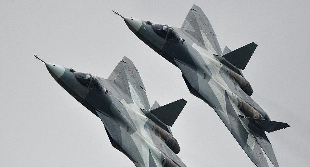 Rusia Memuji Keberhasilan Misi Tempur Su-57 di Suriah
