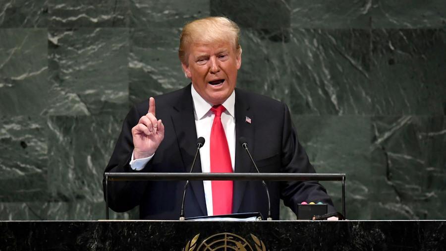 VIDEO: Pidato Trump Ditertawakan Para Pemimpin Dunia dalam Sidang Umum PBB