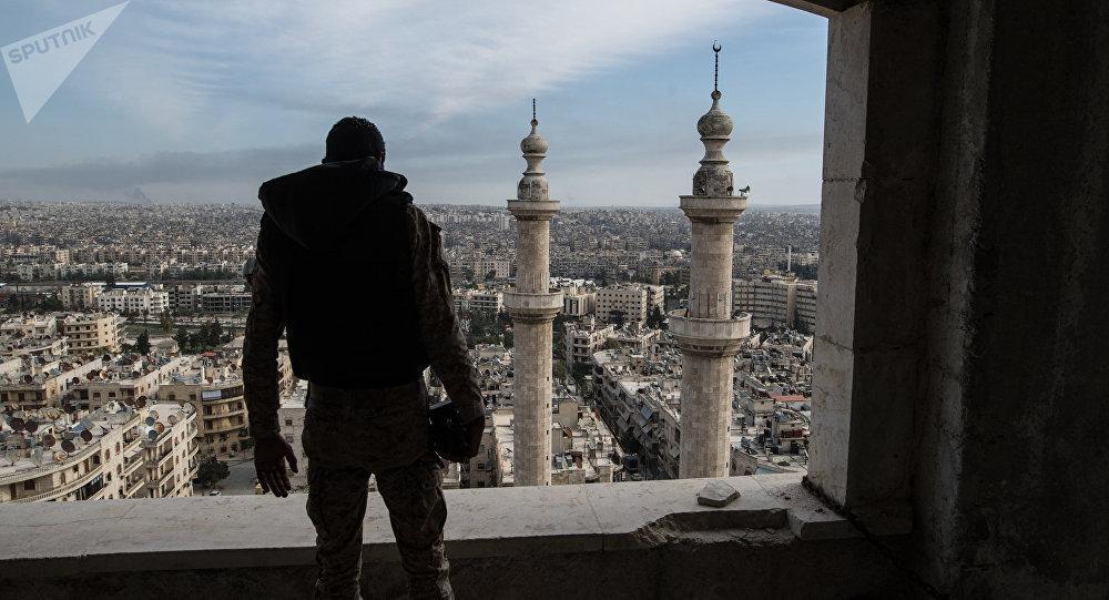 Sniper Tak Dikenal Tembak Prajurit Suriah di Aleppo