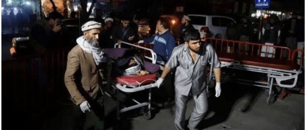Bom Bunuh diri teroris di Afghanistan