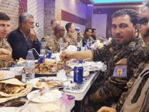 Dinner Tentara AS dan Militan Kurdi