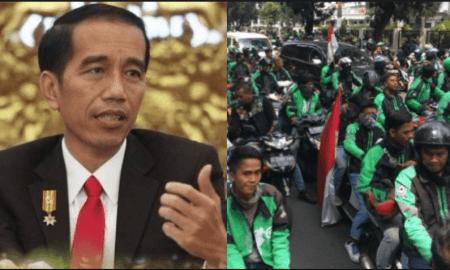Jokowi dan ojek online
