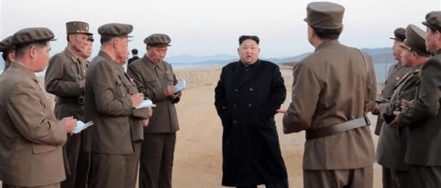Kim Jong-Un dan Bawahannya