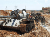Militer Suriah di Deir Ezzor