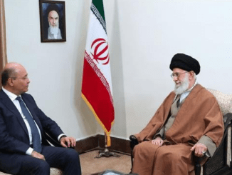 Presiden Irak dan Ayatollah Ali Khamanei