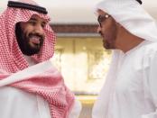 Putra Mahkota Saudi dan UEA
