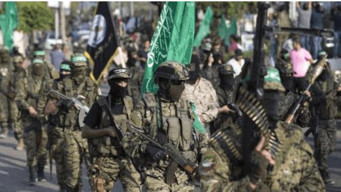 Tentara Hamas di Gaza