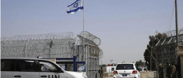 UN diperbatasan Israel