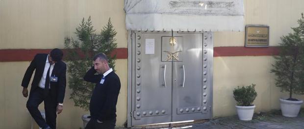 Konsulat Saudi di Turki