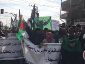 Demo Petani dan Nelayan di Gaza