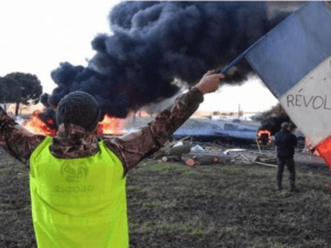 Demo Rompi Kuning di Prancis