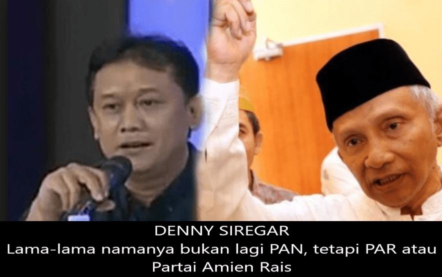 Denny Siregar Bongkar Fakta Dibalik Pembelotan Para Kader PAN