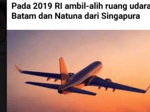Jokowi ambil FIR