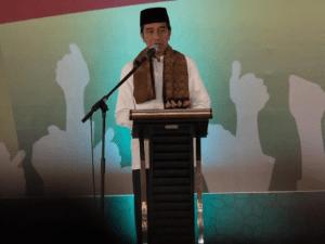 Jokowi di Madura