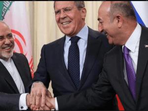 Menlu Iran, Rusia dan Turki