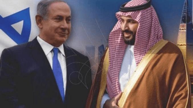 Netanyahu dan Mohammed bin Salman