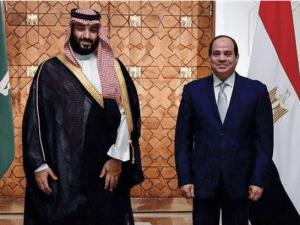 Putra Mahkota Saudi dan El Sisi