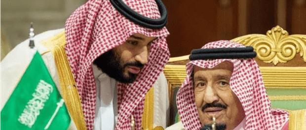 Raja Salman dan Putranya