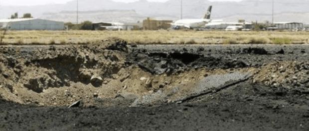 Saudi Serang bandara Yaman