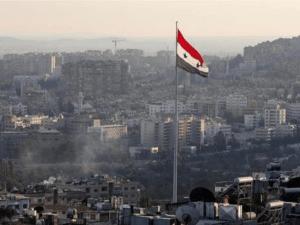 Suasana Kota Damaskus Suriah