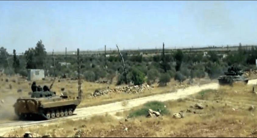 Tentara Suriah Tak Kasih Ampun Teroris di Hama