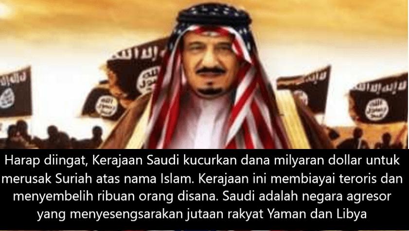 Kenapa Dubes Saudi Serang NU dan Bela Kelompok Anti Pemerintah?