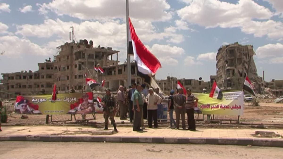 Peta Tujuh Tahun Pertempuran di Damaskus (2011-2018)