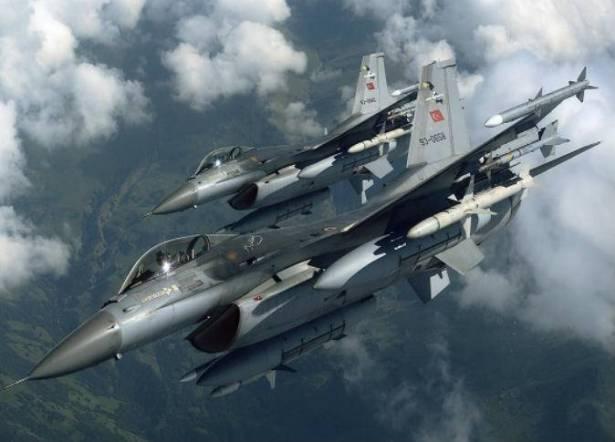 Jet-jet Tempur Turki Memasuki Wilayah Udara Suriah