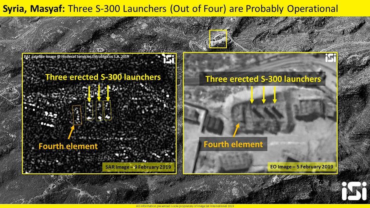 Citra Satelit Terbaru Tunjukkan Sistem S-300 Suriah Siap Digunakan