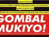 "Tulisan Pedas Sumanto Al-Qurtuby kepada Kelompok Sok Bela Islam ""Politik Gombal Mukiyo"""