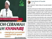 Jejak Digital Ustadz Maaher At-Thuwailibi, Hina Polisi Hingga Sebar Video Hoax Ngabalin Stroke