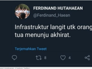 """GMI Polisikan Ferdinand Hutahean """"Instruktur Langit untuk Orang Tua Menuju Langit"""""""