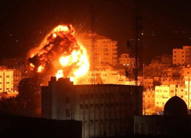 Israel_Serang_Jalur_Gaza