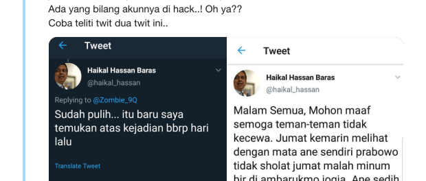 Netizen Bongkar Skenario Jahat Haikal Hassan