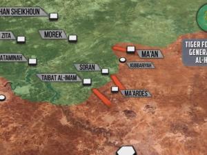Angkatan Udara Suriah Lakukan Serangan Udara ke Hama Utara