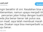 Tweet Andi Arief