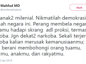 Andi Arief 'Kuwalat' Mahfud MD