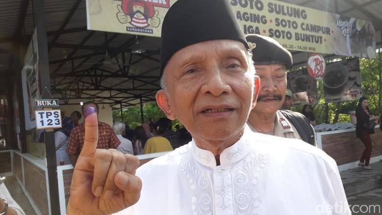 Kemenangan Jokowi di TPS Amien Rais, Pukulan Telak yang Tak Terlupakan