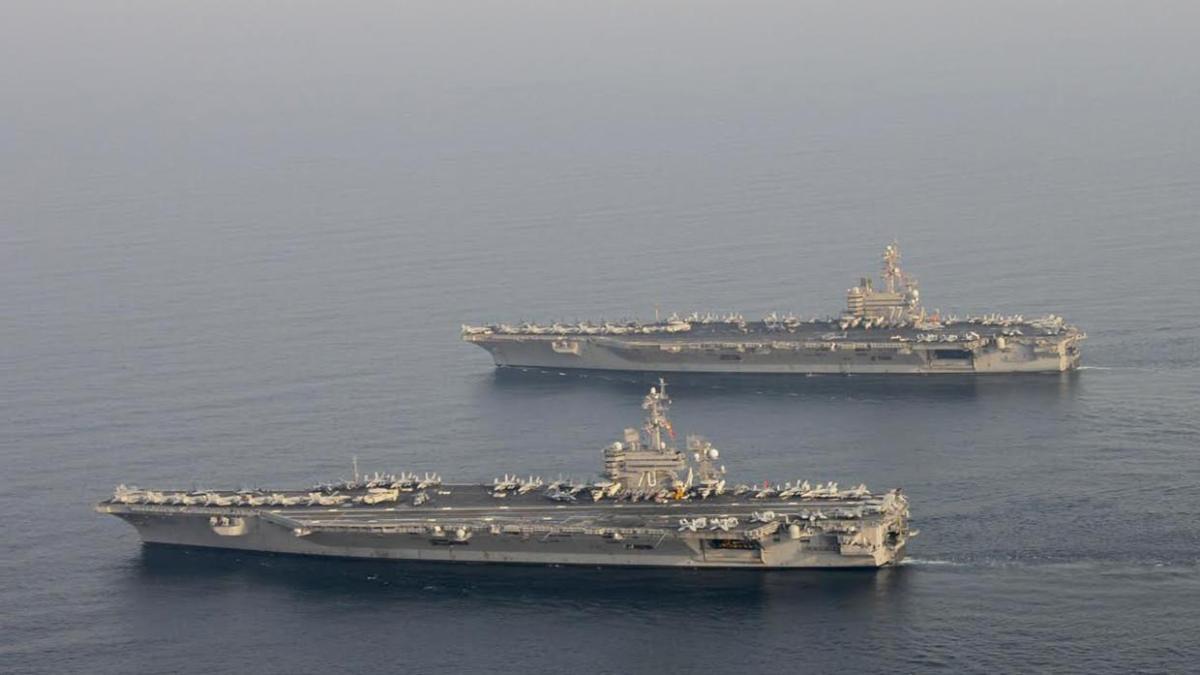 IRGC: Rudal Jarak Dekat Iran Dapat Tenggelamkan Armada Kapal Perang AS di Teluk