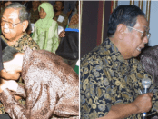 VIRAL, Foto Jokowi Cium Tangan Gus Dur