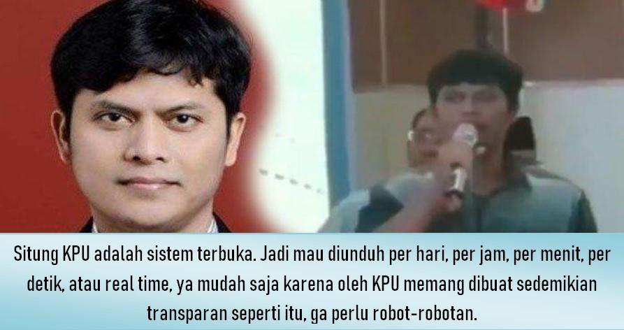 Prof Marsudi Telanjangi Pakar TI Kubu Prabowo dan Robot Ikhlas